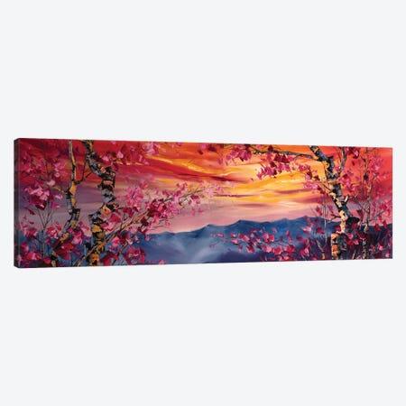 Morning Lights Canvas Print #WLA39} by Willson Lau Canvas Art Print