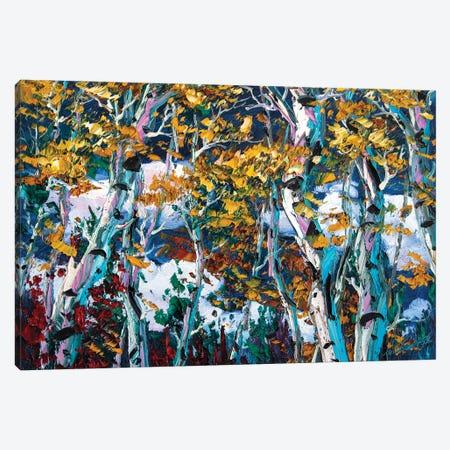 Birch Forest IV Canvas Print #WLA42} by Willson Lau Canvas Art