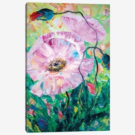 Poppy Dance Canvas Print #WLA48} by Willson Lau Canvas Art