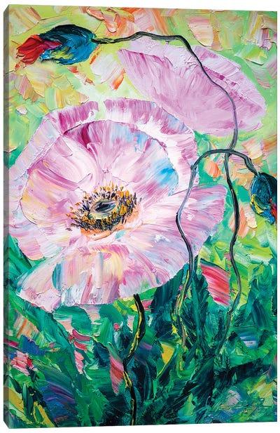 Poppy Dance Canvas Art Print