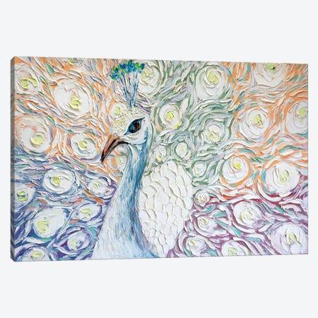 Peacock XXVI Canvas Print #WLA53} by Willson Lau Canvas Print