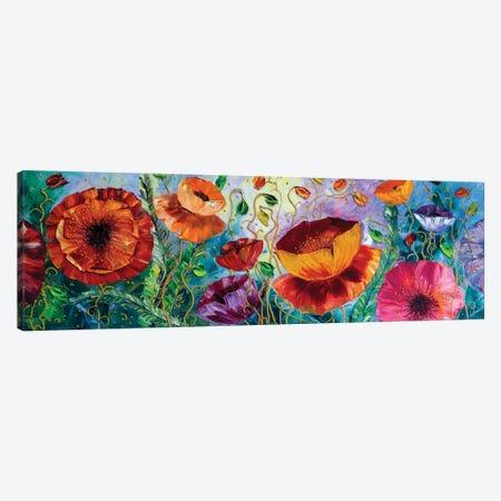 Poppy Field III Canvas Print #WLA54} by Willson Lau Canvas Art