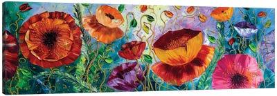 Poppy Field III Canvas Art Print