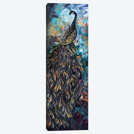 Peacock XXVII Canvas Print #WLA55} by Willson Lau Canvas Artwork