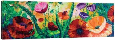 Poppy Field IV Canvas Art Print