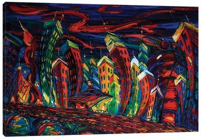 Modern City Series XII Canvas Art Print