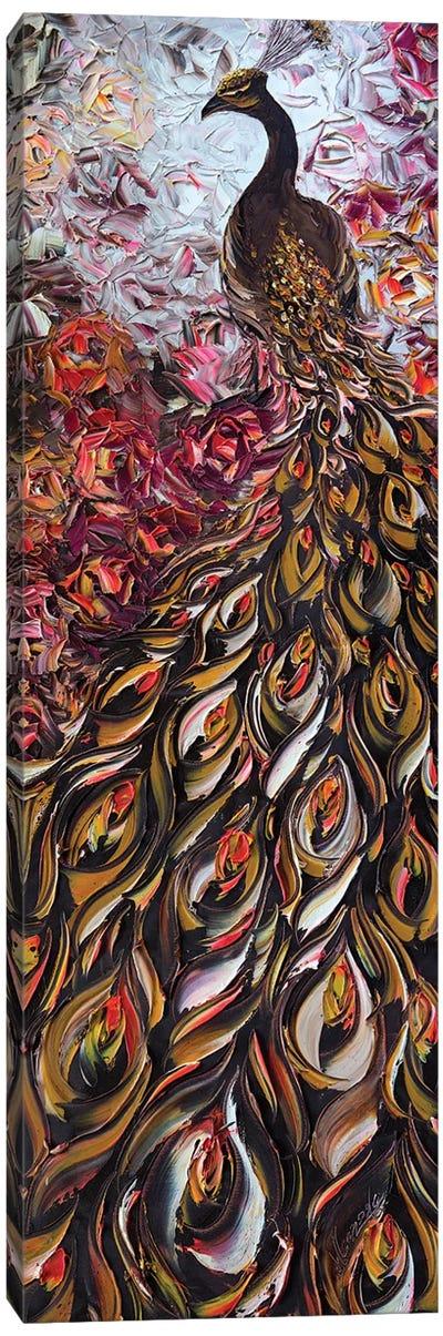 Peacock XXIX Canvas Art Print