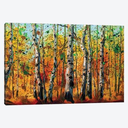 Birch Forest VIII Canvas Print #WLA64} by Willson Lau Canvas Print