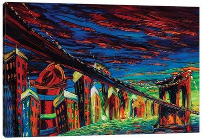 Modern City Impression Canvas Art Print