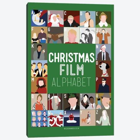 Holiday Alphabet Canvas Print #WLD101} by Stephen Wildish Canvas Print