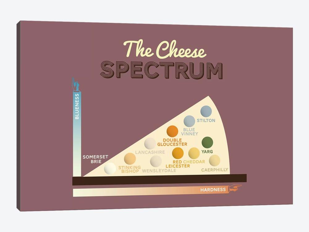 Cheese by Stephen Wildish 1-piece Canvas Art Print