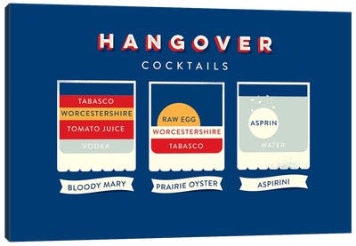 Hangover Canvas Art Print