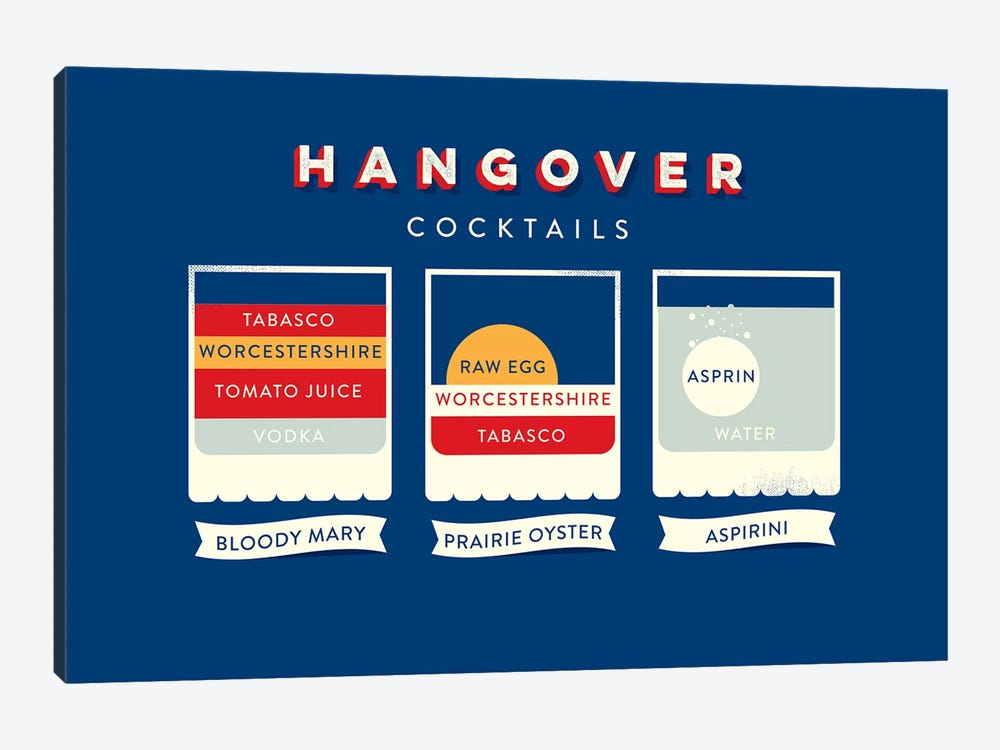 Hangover by Stephen Wildish 1-piece Canvas Art Print