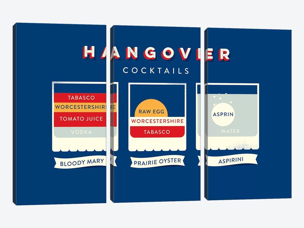 Hangover by Stephen Wildish 3-piece Canvas Print