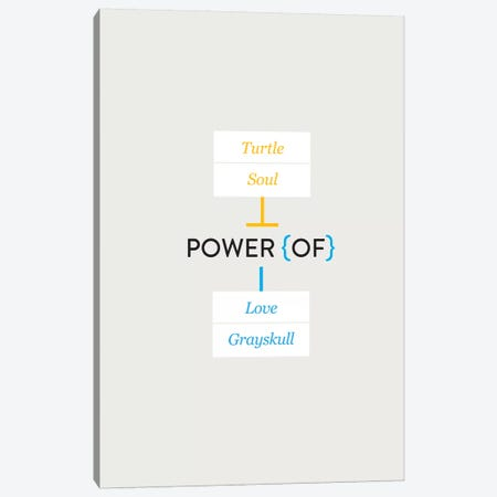 Love Canvas Print #WLD52} by Stephen Wildish Canvas Artwork