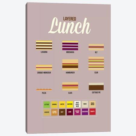 Lunch Canvas Print #WLD53} by Stephen Wildish Canvas Artwork