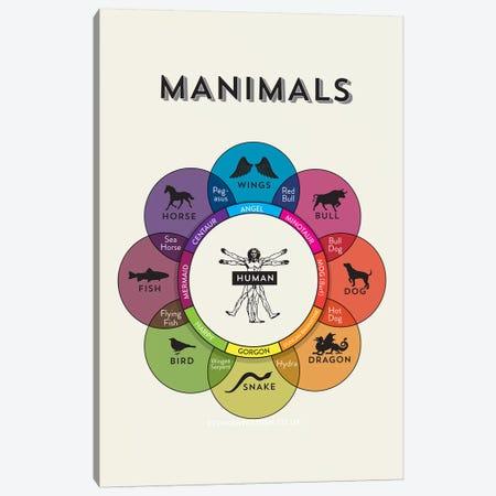 Manimals 3-Piece Canvas #WLD54} by Stephen Wildish Canvas Art Print
