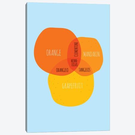 Oranges Canvas Print #WLD59} by Stephen Wildish Canvas Artwork