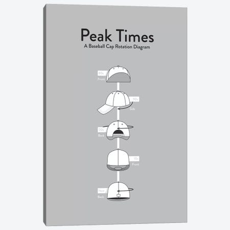 Peak Times Canvas Print #WLD61} by Stephen Wildish Art Print