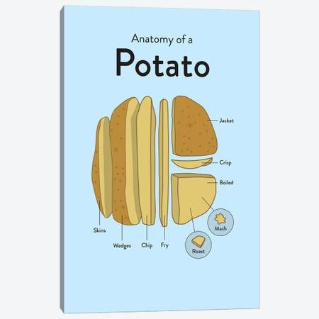 Potato Canvas Print #WLD66} by Stephen Wildish Canvas Wall Art