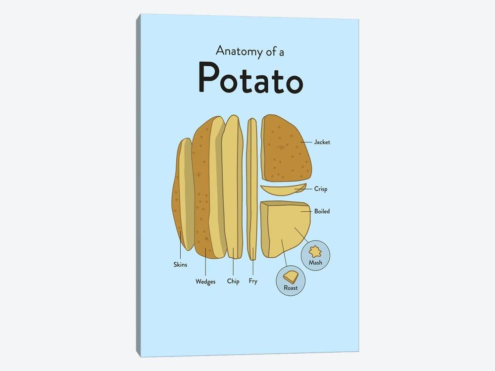 Potato by Stephen Wildish 1-piece Canvas Artwork