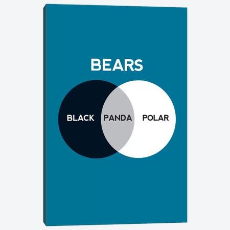 Bears Canvas Print #WLD6} by Stephen Wildish Canvas Art