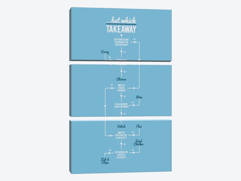 Takeaway by Stephen Wildish 3-piece Art Print