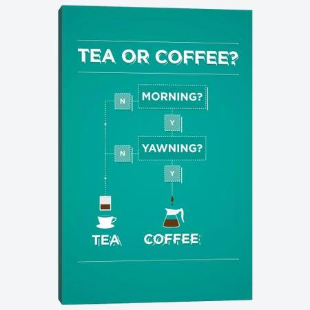 Tea And Coffee Canvas Print #WLD77} by Stephen Wildish Canvas Print
