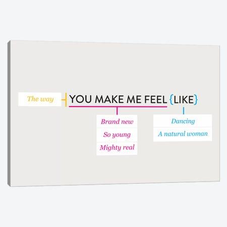 You Make Me Feel Like Canvas Print #WLD78} by Stephen Wildish Canvas Art