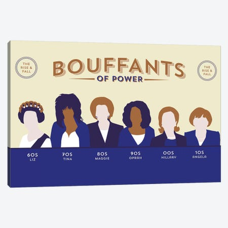 Bouffants Of Power Canvas Print #WLD88} by Stephen Wildish Art Print