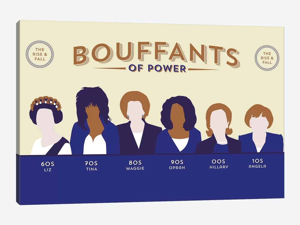 Bouffants Of Power by Stephen Wildish 1-piece Canvas Wall Art