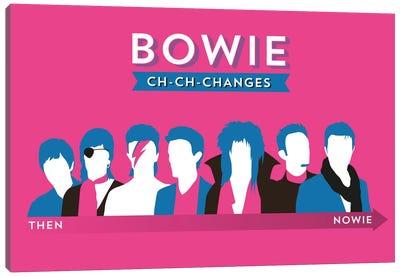 Bowie Ch-Ch-Changes Canvas Art Print