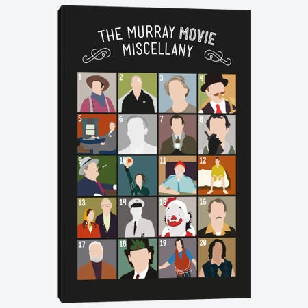 Murray Movies Canvas Print #WLD94} by Stephen Wildish Art Print