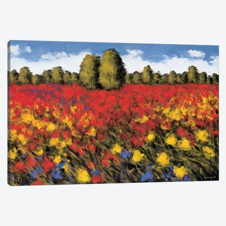 Summer Splendor Canvas Print #WLE2} by Wayne Leidenfrost Canvas Art