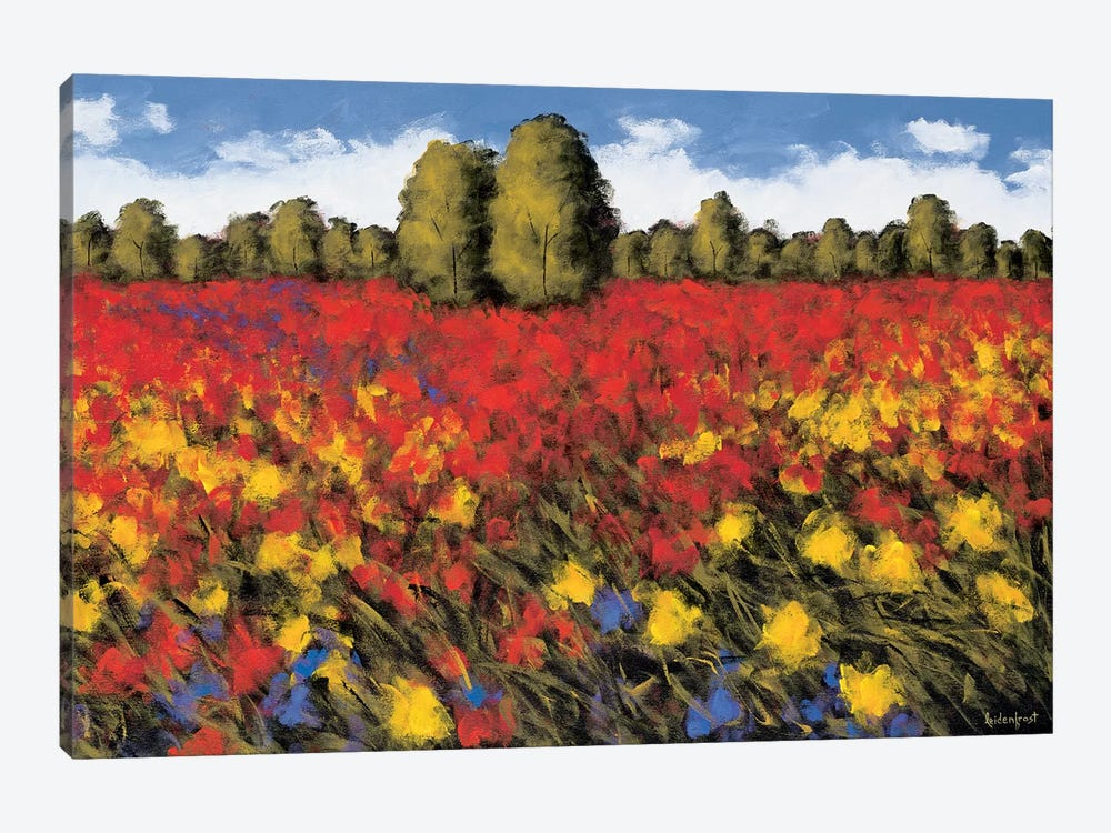 Summer Splendor by Wayne Leidenfrost 1-piece Canvas Artwork