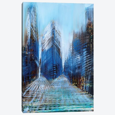 New York Day Canvas Print #WLM15} by Jen Williams Canvas Wall Art