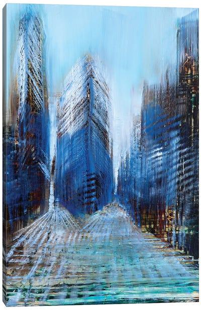 New York Day Canvas Art Print