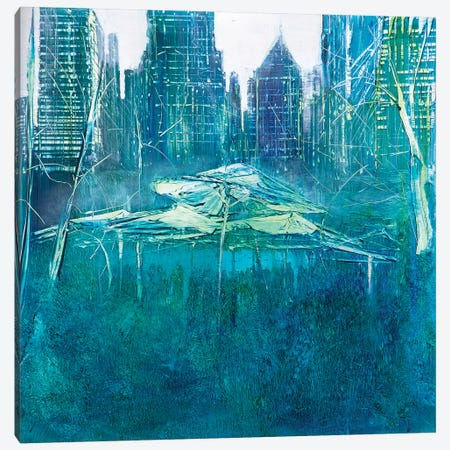 Party in Bryant Park Canvas Print #WLM16} by Jen Williams Canvas Artwork