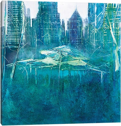 Party in Bryant Park Canvas Art Print