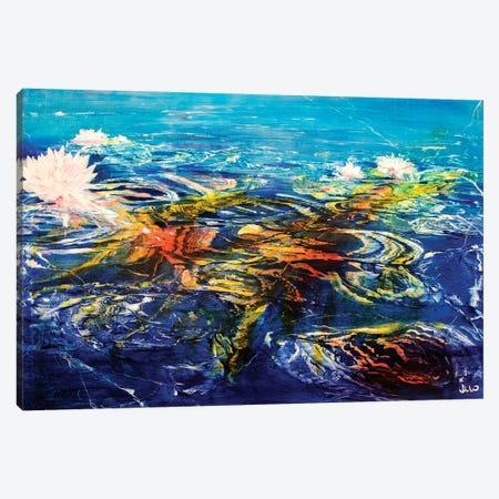 Pearls of Wisdom Canvas Print #WLM17} by Jen Williams Canvas Artwork