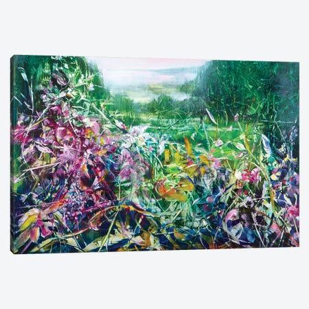 Pink Haze Canvas Print #WLM18} by Jen Williams Art Print