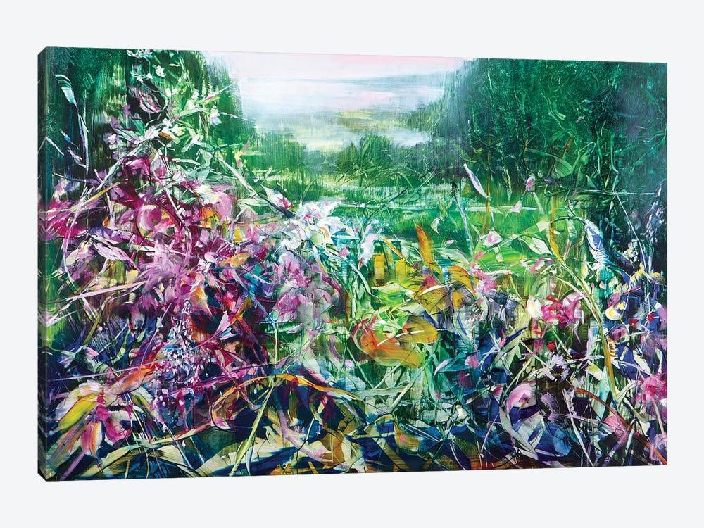 Pink Haze by Jen Williams 1-piece Canvas Print