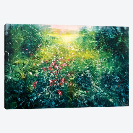 Secret Meadow Canvas Print #WLM20} by Jen Williams Canvas Art