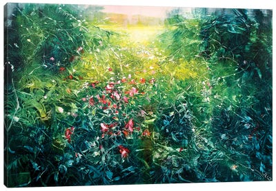 Secret Meadow Canvas Art Print