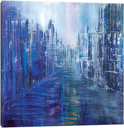 Streets of New York Canvas Art Print