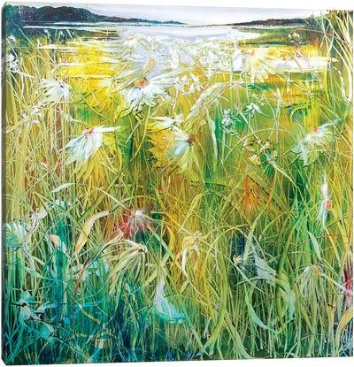 The Millpond Canvas Art Print