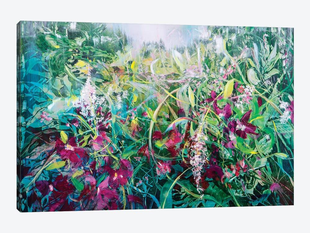 Wild Bouganville by Jen Williams 1-piece Canvas Wall Art