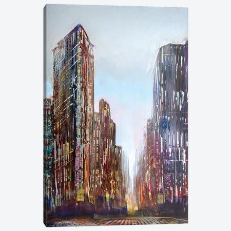Flatiron Canvas Print #WLM4} by Jen Williams Canvas Print