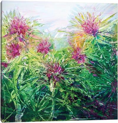 Flower Tops Canvas Art Print