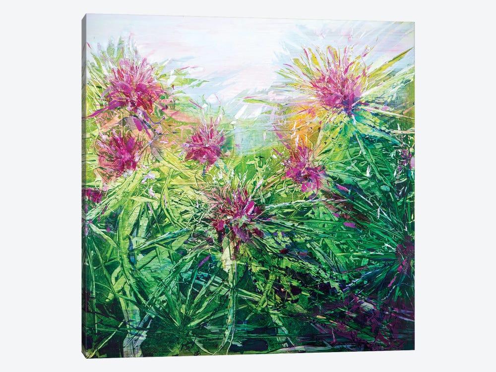 Flower Tops by Jen Williams 1-piece Art Print